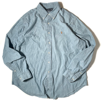 Used Polo Ralph Lauren  L/S Chambray Shirt C-0508