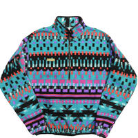 90's Columbia Pullover Fleece Jacket [C-0030]