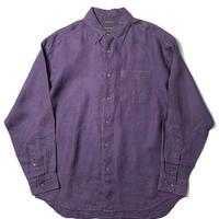 00s Banana Republic Long Sleeve Linen Shirts Purple