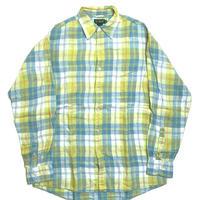 90s J.Crew Long Sleeve Linen Shirt