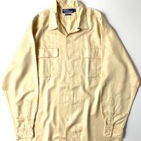 Ralph Lauren Rayon Open Collar Longsleeve Shirt