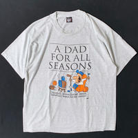 """90s """"A DAD FOR ALL SEASONS"""" T-Shirt"""