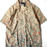 Ralph Lauren Flower Pattern Open Collar Shortsleeve Shirt