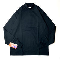 CAMBER #306 MOCK TURTLE SHIRT BLACK
