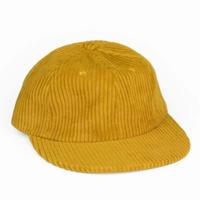 Corduroy Cap Yellow