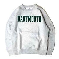 DARTMOUTH COLLEGE SWEAT SHIRT GREY