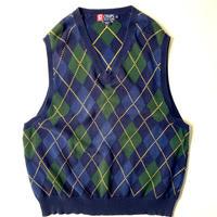 90s Chaps Ralph Lauren Cotton Knit Vest
