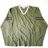 2000s J.Crew Longsleeve Football T-Shirt