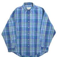 90s Eddie Bauer Long Sleeve Cotton Linen Shirt