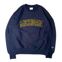"CHAMPION REVERSE WEAVE SWEAT SHIRT""MICHIGAN"" NAVY"