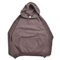 Los Angeles Apparel 14oz Garment Dye Hoodie Chocolate