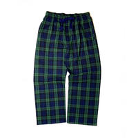BOXERCRAFT FLANNEL EASY PANTS GRN/NAVY