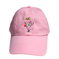 Editorial Magazine Poor Gray Hat Pink