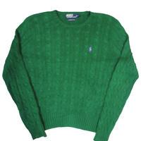 90's Polo Ralph Lauren Cotton Knit Sweater [C-0072]