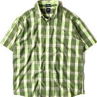 2000s Gap Shortsleeve Plaid Shirt