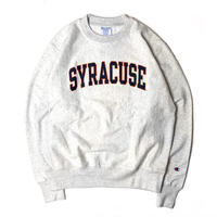 """CHAMPION REVERSE WEAVE SWEAT SHIRT """"Syracuse"""" GREY  【Front Print Only】"""