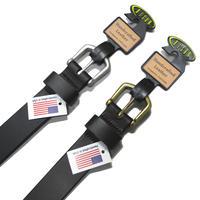 Bison Designs Shkltn Leather Belt