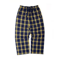 BOXERCRAFT FLANNEL EASY PANTS NAVY/GOLD