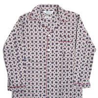 70s Montgomery Ward Long Sleeve Pajama Shirt