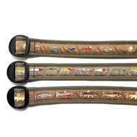 Bison Designs Cotton Canvas Ring Belt