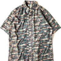 Kahala Fish Pattern Shortsleeve Shirt