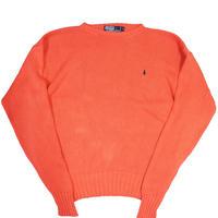90's Polo Ralph Lauren Cotton Knit Sweater [C-0073]