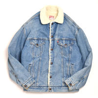 80s Levi's Denim Boa Jacket