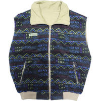 90's Columbia Fleece/Nylon Reversible Vest [C-0003]