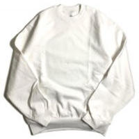 LOS ANGELES APPAREL 14oz CREWNECK SWEAT WHITE