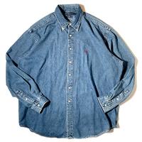 Used Polo Ralph Lauren  L/S Denim Shirt C-0504