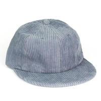 Corduroy Cap Blue