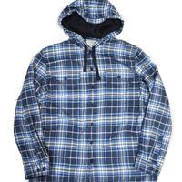 L.L.Bean Check Shirt Hoodie Fleece Liner [C-0034]