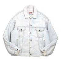 80s Levi's Denim Boa Jacket