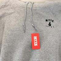 MYTK ワンポイントパーカー(グレー)