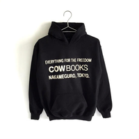 Book Vender hoodie  XSサイズ (Logo /White,Gray, Black,Red)