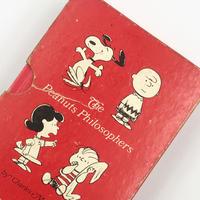 Title/ Peanuts Philosophers   Author/ Charles M.Schulz