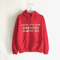 Book Vender hoodie  XSサイズ (Logo /White,Gray, Black,Red)