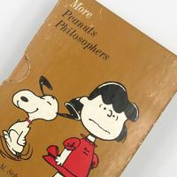 Title/ More Peanuts Philosophers     Author/ Charles M.Schulz