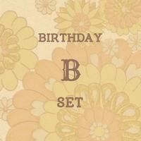 birthday B set