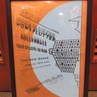 2000'sポートランドローカルライブハウス額付きポスター●210102s5-pstイベント音楽ミュージック壁掛けインテリアUSAディスプレイ