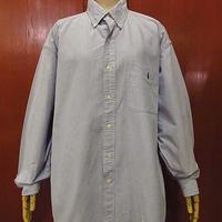 Ralph Laurenオックスフォードボタンダウンドレスシャツsize M●201203f8-m-lssh-drs古着ラルフローレンBDシャツ長袖メンズ