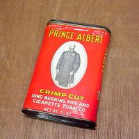 ビンテージ●PRINCE ALBERT タバコ缶●210120n8-bxs ティン缶ディスプレイケース箱雑貨