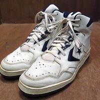 ビンテージ90's●CONVERSEバスケットボールシューズ10 1/2●201203n2-m-snk-285cm 1990sコンバーススニーカーバッシュ