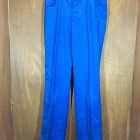 ビンテージ70's●cintasブーツカットパンツ青size 33●201120n4-m-pnt-ot-W31ボトムスブルー古着メンズヒッピーUSA製