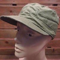 ビンテージ50's●U.S.ARMY M-1951耳当て付きコットンポプリンフィールドキャップ7●200712n3-m-cp-ot 1950sミリタリー米軍実物帽子M-51