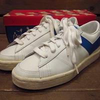 ビンテージ70's●DEAD STOCK PONYレザースニーカーSize4●210519s12-w-snk-23cm 1970sデッドストックレディース靴