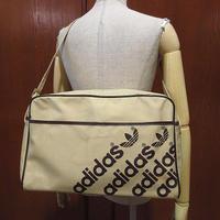 ビンテージ80's●adidasナイロンショルダーバッグ●210509f8-bag-shdアディダススポーツバッグかばん1980s