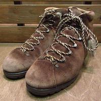 ビンテージ●Raichleスウェードトレッキングブーツ●200713n1-w-bt-24cm レディーススイス製登山靴