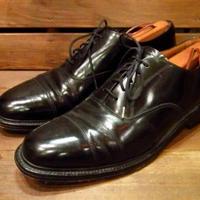 ビンテージ●Churchillストレートチップシューズ黒10D●210407s12-m-dshs-28cm チャーチルキャップトゥドレスシューズ革靴英国製