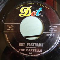 THE DARTELLS●HOT PASTRAMI/DARTELL STOMP Dot Records 45-15453●210419t1-rcd-7-rkレコード米盤7インチロック45